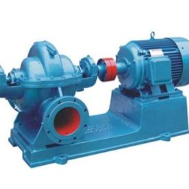 预制泵站种类,S、SH型单级双吸中开泵