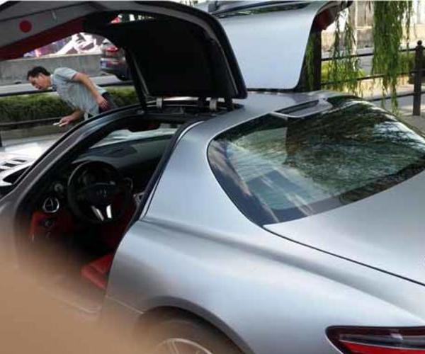 奔驰汽车玻璃