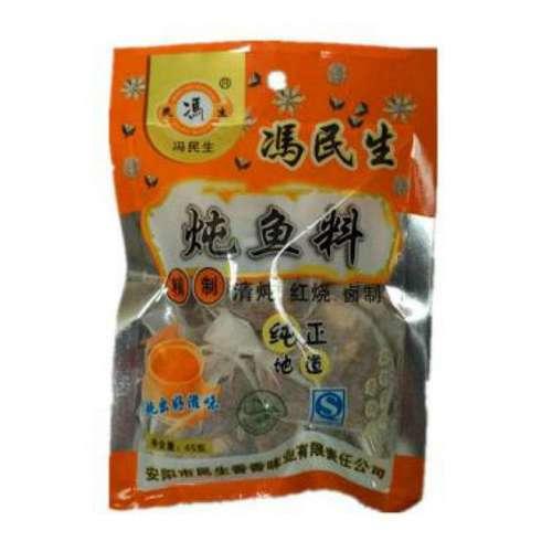 冯民生炖鱼料 45克