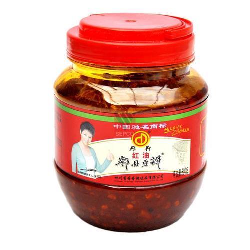 丹丹红油豆瓣酱 500克