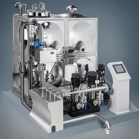 ZWL型水箱式管網疊壓(無負壓)供水設備