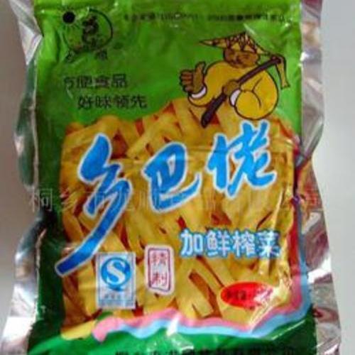 龍順鄉巴佬加鮮榨菜 200克
