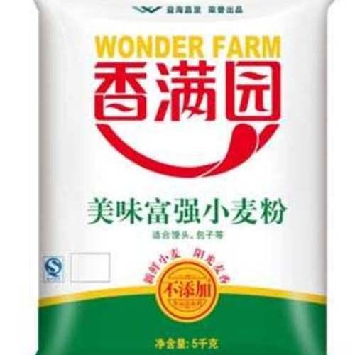 香满园美味精制小麦面 5千克