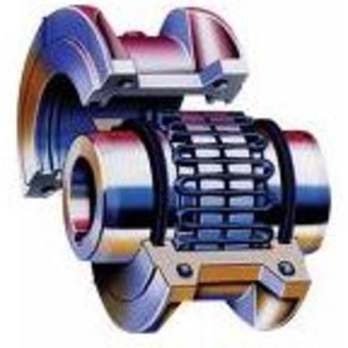 JSD单法兰联接蛇形弹簧联轴器