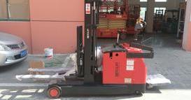 上海某车辆新能源系统公司购买的DN24323前移堆高车交货