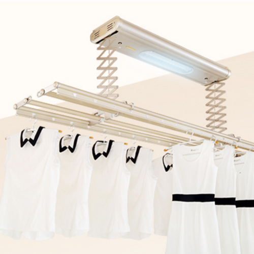 电动晾衣架自动升降晒衣架智能遥控阳台晾衣机