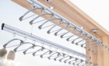 升降晾衣架阳台手摇双杆晾晒阳台晒被架晾衣架晾衣杆
