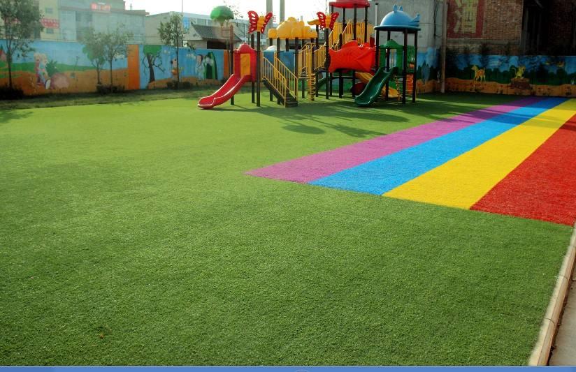 人造草坪足球场