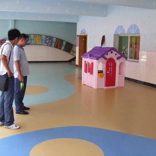 幼儿园地板pvc