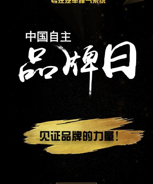 中国**品牌日