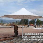 彩色钢结构膜伞 SH-7