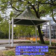 金山石化迷彩色钢结构膜伞 SH-1