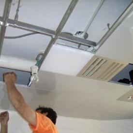 铝扣板吊顶送货安装