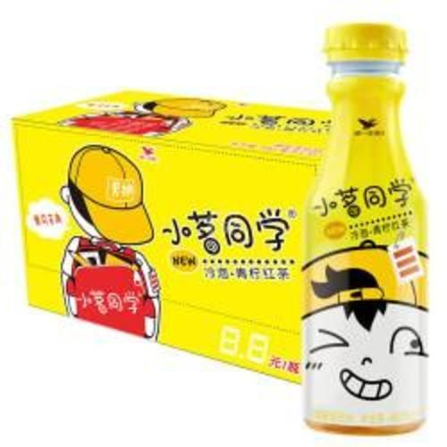 统一小茗同学冷泡 青柠红茶 480ml
