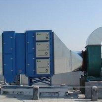 光氧催化和水喷淋废气处理设备