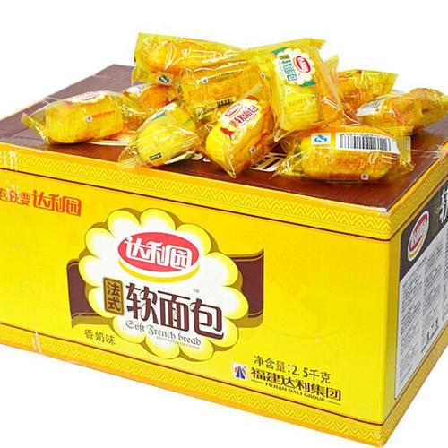 达利园法式软面包奶香味 2.5千克