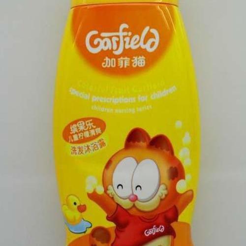 加菲貓兒童檸檬清爽洗發沐浴露 250ml