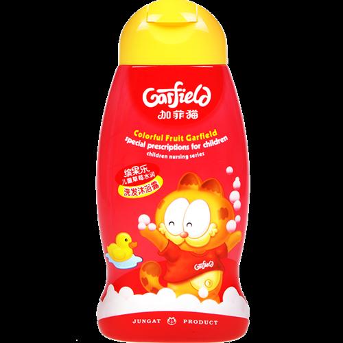 加菲貓兒童草莓水潤洗發沐浴露 250ml
