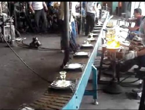 工艺品生产线