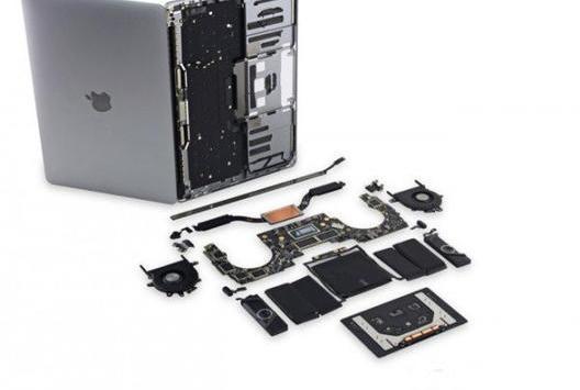 13英寸MacBook Pro拆机显示其很难维修