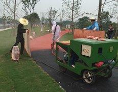 上海松江小区塑胶跑道