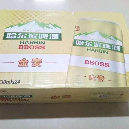 哈尔滨啤酒金麦 330mlx24罐