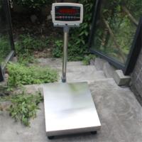 电子台秤TCS-系列台秤30-500kg电子台称台面450*600MM朗科电子平台秤