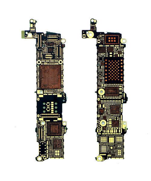 适用 苹果iPhone 5S 光板 线路测量板 测线板 裸板 空板 小料板