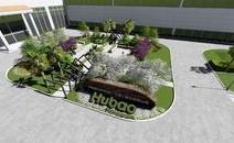 廠區入口景觀設計視頻動畫