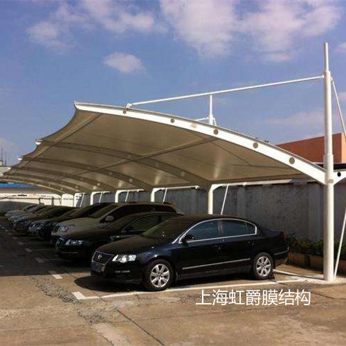 膜结构汽车停车棚系列