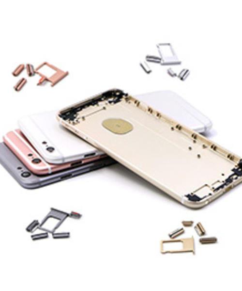 适用 适用 苹果iphone6SPlus 后盖 外壳 电池盖 银白/灰/金/玫瑰金