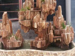 假山喷泉小桥流水