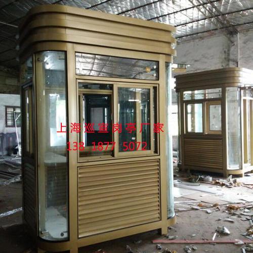 钢结构岗亭-001