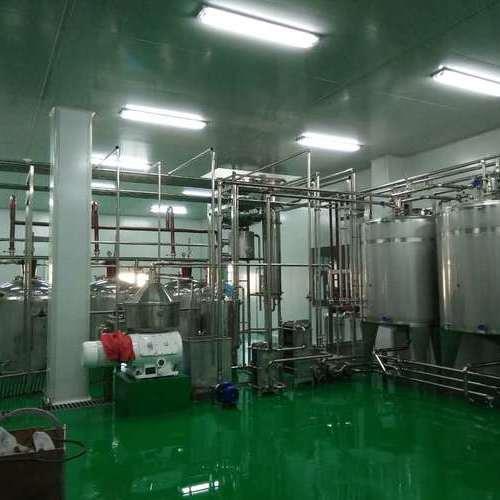 哈尔滨农科院合作项目(6000瓶每小时果汁饮料生产线)