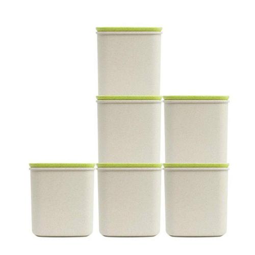 堆叠储物罐