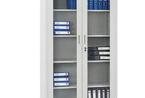 玻璃開門資料櫃 SD-WJG003