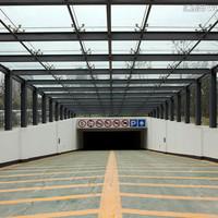 佳兆业广场车库玻璃雨篷