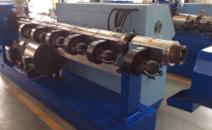 Conical twin-screw extruder customer case