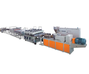 PVC/WPC floor production line