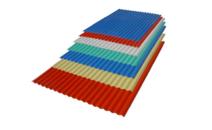 PVC wave tile