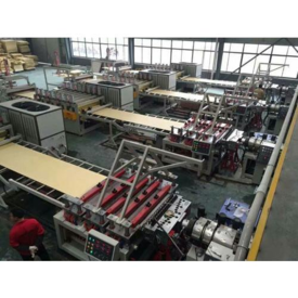 WPC floor production line,