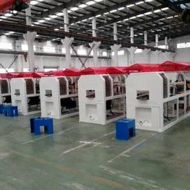 Panel production line