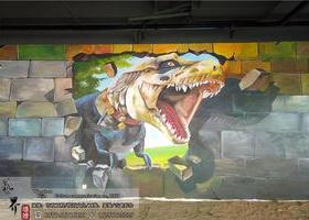 苍南网咖恐龙3d画