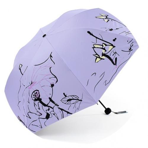 时尚公主遮阳雨伞
