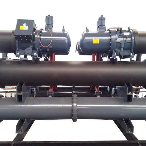低温螺杆水冷式冷水机 -15℃低温双机二
