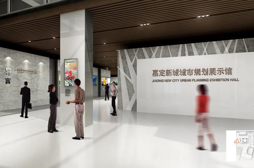 嘉定新城城市规划展示馆