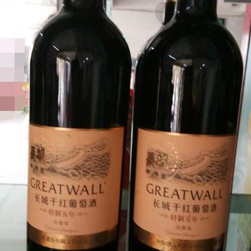 长城干红葡萄酒特制五年赤霞珠