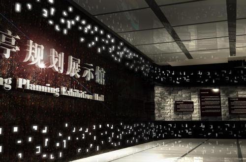 上海安亭镇政府规划馆