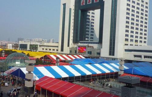 2007-2012用于南昌火车站的活动篷房