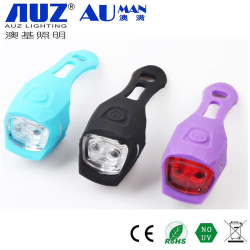 Bicycle Led Lights With 3 Switch Model Bicycle Light silica gel